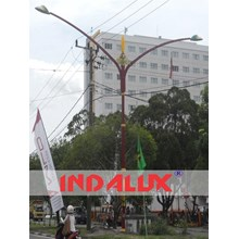 Tiang Lampu Jalan Type Angle Wing's OR.2