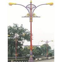Tiang Lampu Jalan Type CALCULATA OR. 2