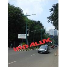 Tiang Lampu Jalan Decorative Type GBK