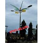 Tiang Lampu Jalan Dekoratif Type Pohon Kelapa 4