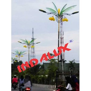 From Decorative Street Lamp Pole Type Palm Trees 0