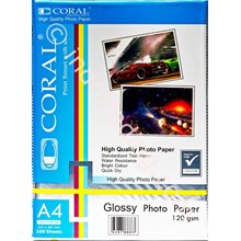 Kertas Glossy Coral 120Gsm A4