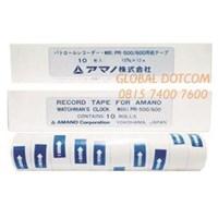 Kertas Continuous Form RECORD TAPE AMANO PR500  PR600