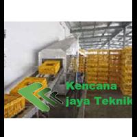 Conveyor Pembersih Keranjang Ayam