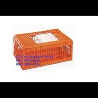 Keranjang ayam kecil orange 1