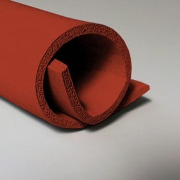 red silicone sponge