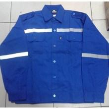 Baju Kerja Atasan Safety Warna Biru BCA Ukuran L Murah WA 085288918182