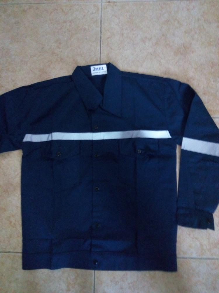 Jual Baju Kerja Atasan Safety Warna Biru Benhur Ukuran Xxl