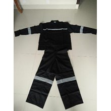 Baju Celana Kerja Safety Warna Hitam Ukuran XL Murah WA 085288918182