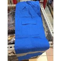 Jual Baju Celana Kerja Safety Warna Biru BCA Ukuran XXL Murah WA 085288918182