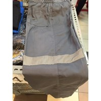 Jual Baju Celana Kerja Safety Warna Abu Abu Ukuran XL Murah WA 085288918182