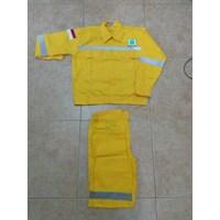 Jual Baju Celana Kerja Safety Warna Kuning Ukuran XXLMurah WA 085288918182