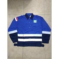 Dari Baju Kerja Safety Combinasi Biru BCA Berkualitas Ukuran L WA 085288918182 0
