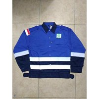 Dari Baju Kerja Safety Combinasi Biru BCA Berkualitas Ukuran XLWA 085288918182 0