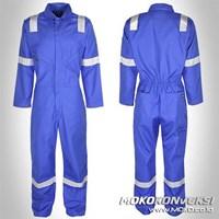 Jual Baju Wearpack safety warna Biru BCA ukuran XXXL Murah Wa 085288918182