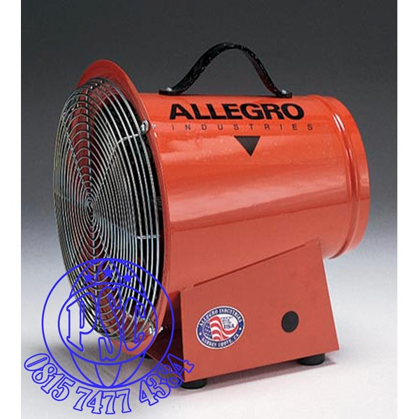 """Blower 8"""" AC Axial Allegro Safety"""