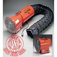 """Explosion Proof Blower 8"""" AC Axial Allegro Safety"""