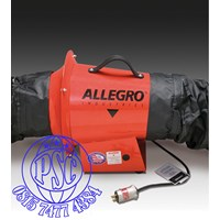 """Dari 8"""" AC Axial Explosion Proof Inline Booster Blower Allegro Safety 1"""