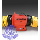 "Axial Inline Booster Blower 8"" AC Allegro Safety 2"