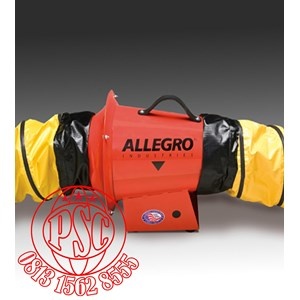 """Axial Inline Booster Blower 8"""" AC Allegro Safety"""