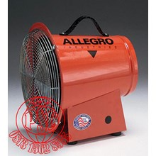 "Blower 8"" DC Axial Allegro Safety"