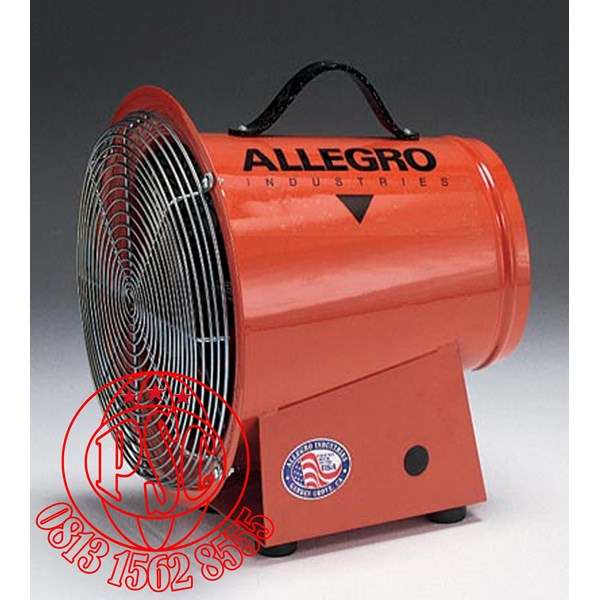 """Blower 8"""" DC Axial Allegro Safety"""