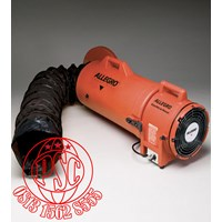 """Blower with Ducting 8"""" Plastic Explosion Proof COM-PAX-IAL Allegro Safety"""