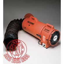 "Blower with Ducting 8"" Plastic Explosion Proof COM-PAX-IAL Allegro Safety"