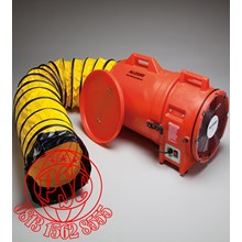 "Blower with Canister 12"" DC Plastic Axial Allegro Safety"