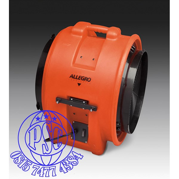 "Blower 16"" Axial AC Plastic Allegro Safety"