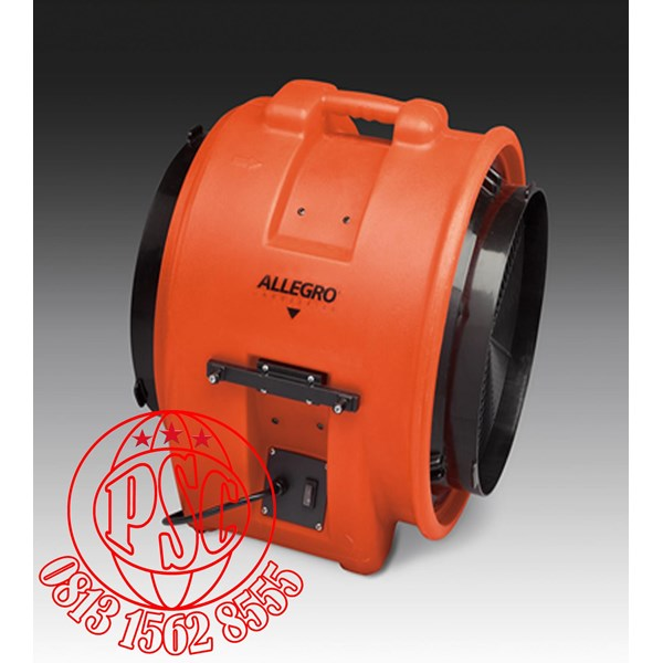 """Blower 16"""" Axial AC Plastic Allegro Safety"""