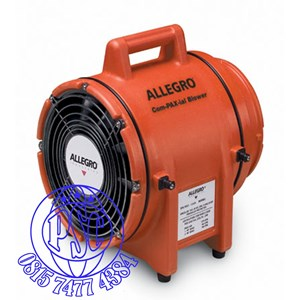 """Dari Blower without canister 8"""" AC Explosion Proof COM-PAX-IAL Plastic Allegro Safety 1"""