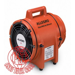 """Dari Blower without canister 8"""" AC Explosion Proof COM-PAX-IAL Plastic Allegro Safety 0"""