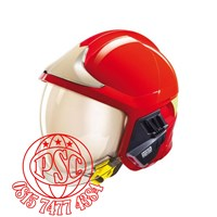 Gallet F1SF MSA Fire Fighters Fireman Helmet