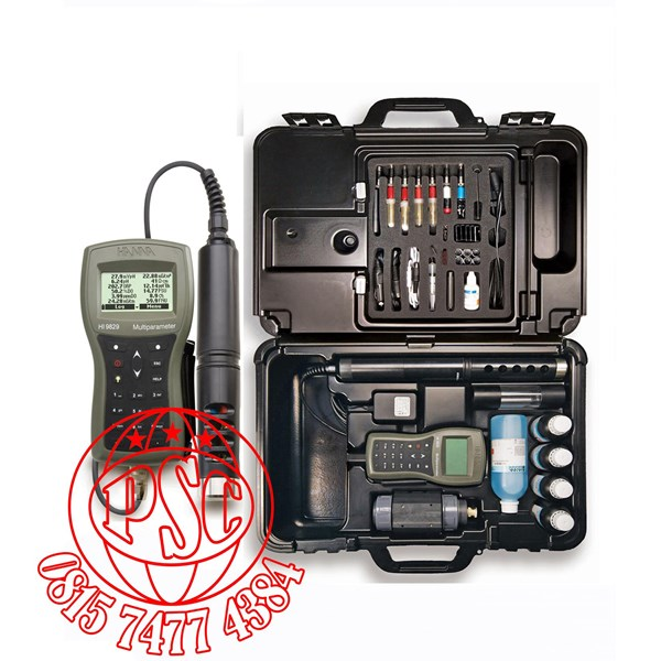 Multiparameter Water Quality Meter Hanna Instruments