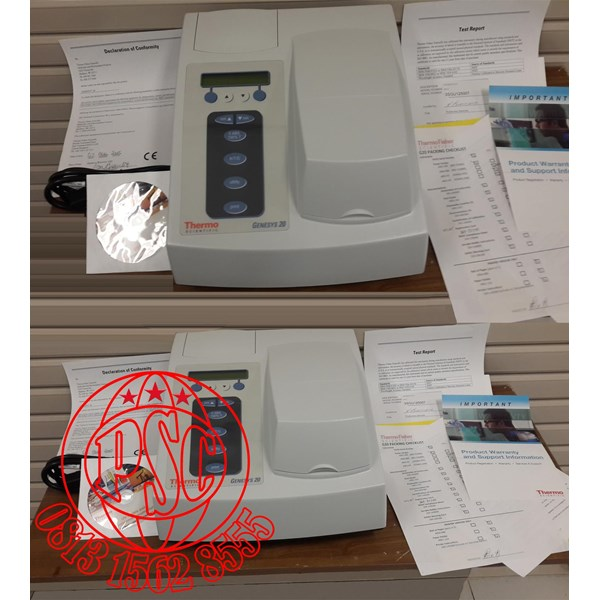 Spectrophotometer Genesys 20 Visible Thermo Scientific