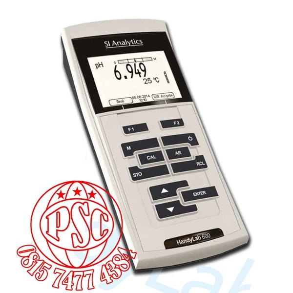 HandyLab 600 pH IDS Meter SI Analytics