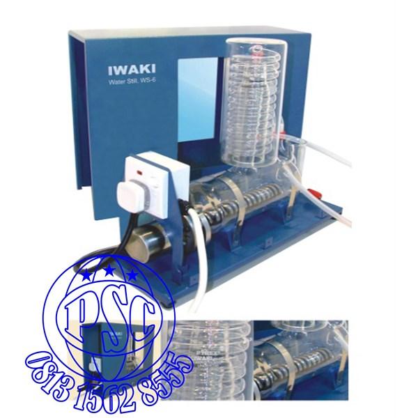Water Still WS-6 Pyrex Iwaki