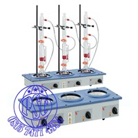 Distributor Heating Mantles Multi Extraction Mantles 3 Recess Model Electrothermal 3
