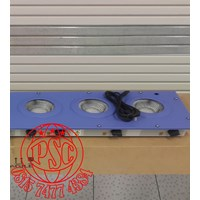 Heating Mantles Multi Extraction Mantles 3 Recess Model Electrothermal 1