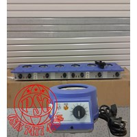 Heating Mantles Multi Extraction Mantles 6 Recess Model Electrothermal