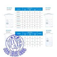 Jual Beaker Tall Form & Low Form Pyrex Iwaki 2