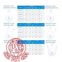 Distributor Boiling Flask Pyrex Iwaki 3