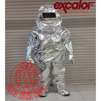 Jual Heat Protection Clothing - Baju Tahan Api 53EXB20 Excalor 2