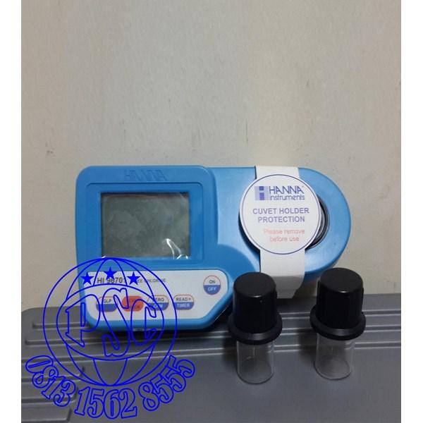 pH Free Chlorine and Total Chlorine HI96710 Portable Photometer Hanna Instruments