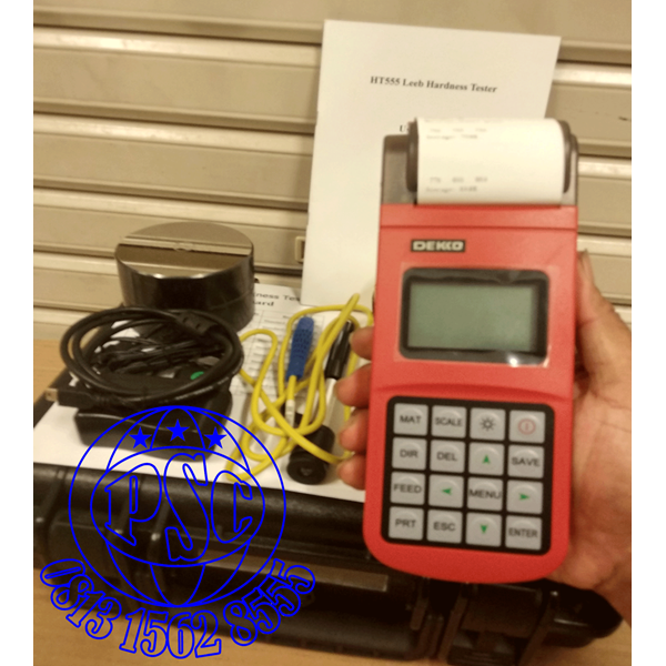 HT555 Digital Tablet Hardness Tester Dekko