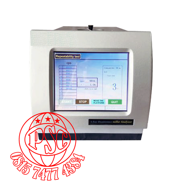 Essential Oil X-ray Fluorescence Sulfur in Oil Analyzer PT-D4294-01
