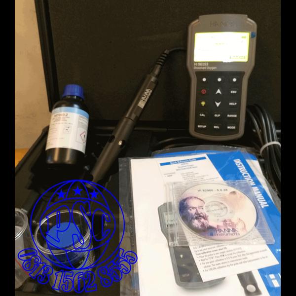 HI98193 Waterproof Portable Dissolved Oxygen & BOD Meter Hanna Instruments