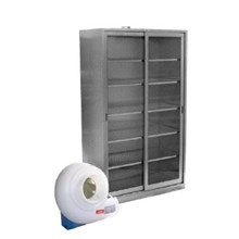 CHEMICAL STORAGE CABINET STAINLESS STEEL