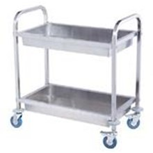 TROLLEY Stainless Steel 2 Tingkat